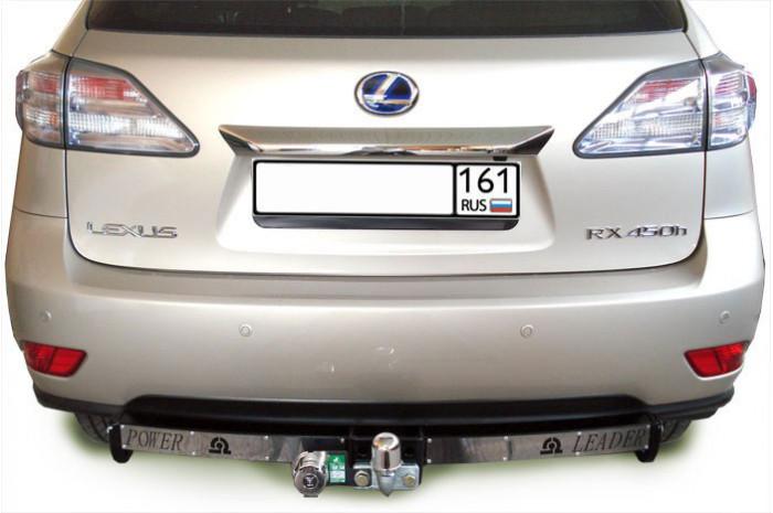 ТСУ для LEXUS RX 270/350/450 (AL1) 2009-... (С НЕРЖ. ПЛАСТИНОЙ)